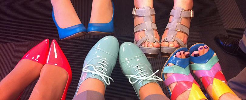 Bekväma skor på nätet till sommaren